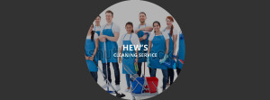 Hew's Cleaning Service team